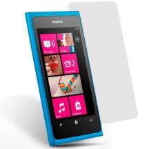 Nokia LUMIA 800 kijelzővédő fólia képernyővédő kijelző védő védőfólia kristálytiszta