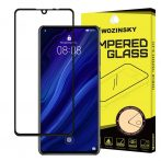 Huawei P30 edzett üveg FEKETE TELJES KÉPERNYŐS FULL SCREEN HAJLÍTOTT tempered glass kijelzőfólia kijelzővédő védőfólia karcálló kijelzős