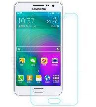 Samsung Galaxy A3 karcálló edzett üveg Tempered Glass kijelzőfólia kijelzővédő fólia kijelző védőfólia eddzett
