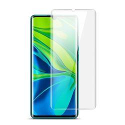 Xiaomi Mi Note 10 / Mi Note 10 Pro / CC9 Pro / Note 10 Lite karcálló edzett üveg HAJLÍTOTT TELJES KIJELZŐS Tempered Glass kijelzőfólia kijelzővédő fólia kijelző védőfólia eddzett UV kötésű