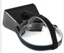 RITECH VR Virtuális Valóság szemüveg fekete VR 3D Googles VR Szemüveg Samsung Galaxy Gear VR DIY Google Cardboard OCULUS RIFT Iphone HTC Sony LG