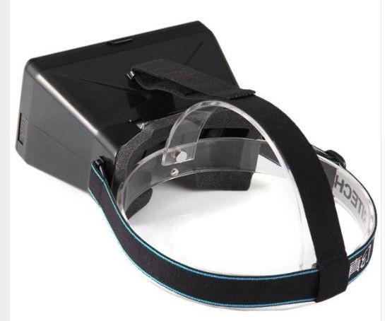RITECH VR Virtuális Valóság szemüveg fekete VR 3D Googles VR Szemüveg  Samsung Galaxy Gear VR DIY Google Cardboard OCULUS RIFT Iphone HTC Sony LG 1861a0101e
