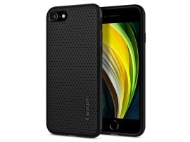 Apple iPhone 7/iPhone 8/SE 2020 ütésálló hátlap - Spigen Liquid Air - fekete