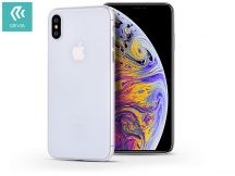Apple iPhone XS Max hátlap - Devia Ultra-Thin - clear
