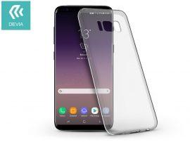 Samsung G955F Galaxy S8 Plus szilikon hátlap - Devia Naked - crystal clear