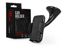 Maxlife univerzális műszerfalra/szélvédőre helyezhető PDA/GSM autós tartó - Maxlife MXCH-01 Car Holder - fekete