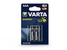 VARTA Energy Alkaline AAA ceruza elem - 2 db/csomag