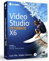 Corel VideoStudio Pro X6 Ultimate VSPRX6ULIEMBEU