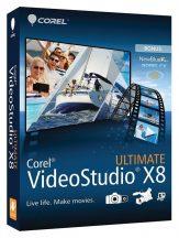 Corel VideoStudio Ultimate X8 (VSPRX8ULENMB)